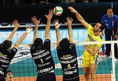 Verona-Modena volley 2^ giornata serie A1 (InfoPhoto2)