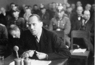Helmuth James Graf von Moltke (1907-1945. Immagine d'archivio)