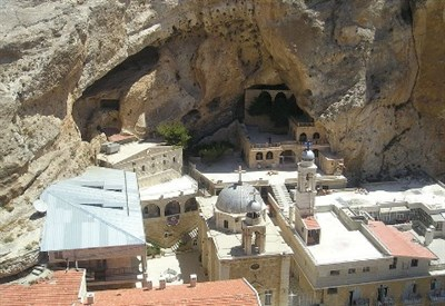 Il monastero di Mar Tekla a Maaloula