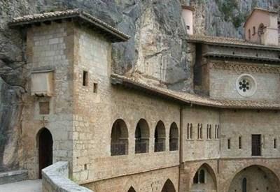 Il monastero di Subiaco (Immagine d'archivio)