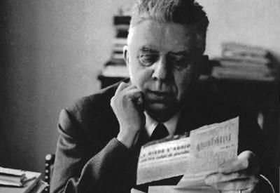 Eugenio Montale (1896-1981) (Foto dal web)