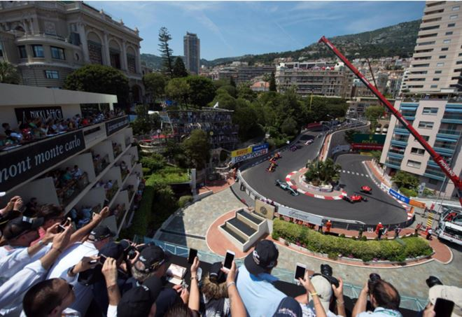 FORMULA 1 DIRETTA GP MONACO 2018  F1 gara live |  Ricciardo mantiene il comando al via |