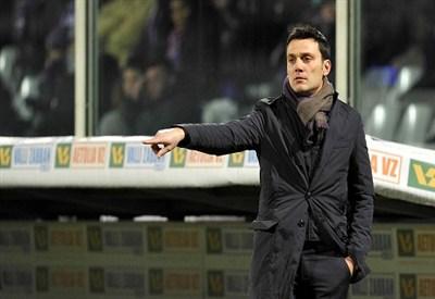 Vincenzo Montella, allenatore Fiorentina (Foto Infophoto)