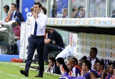 Vincenzo Montella, allenatore della Fiorentina (Foto Infophoto)