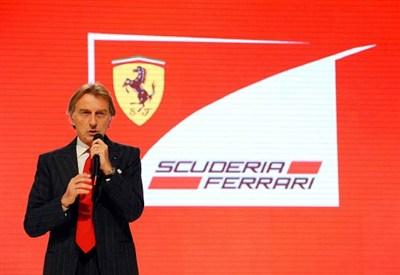 Luca Cordero di Montezemolo, presidente della Ferrari (Infophoto)