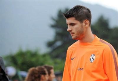 Alvaro Morata, attaccante Juventus (Infophoto)
