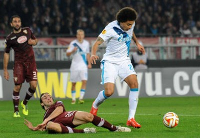 Axel Witsel, 26 anni (Infophoto)