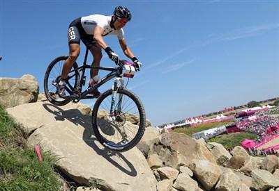 La mountain bike assegna due titoli oggi (Infophoto)