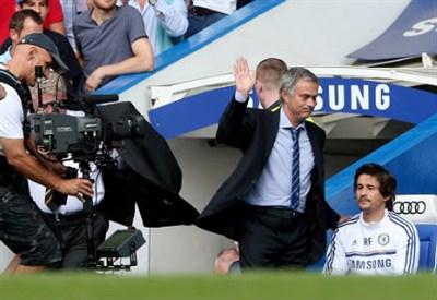 Josè Mourinho, 51 anni, allenatore portoghese del Chelsea (INFOPHOTO)