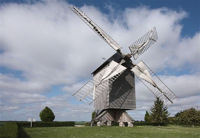 Un mulino a vento