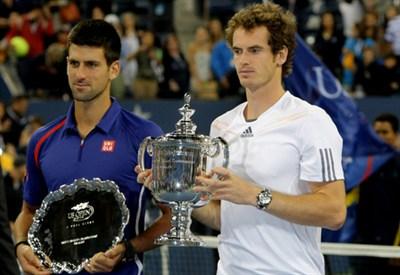 Djokovic e Murray (Infophoto)