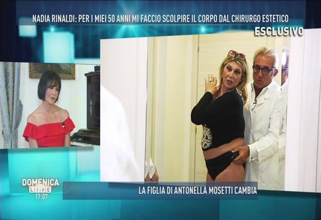 Giulia Latini a Domenica Live: l'ingresso bacchettone e la stoccata a Soleil