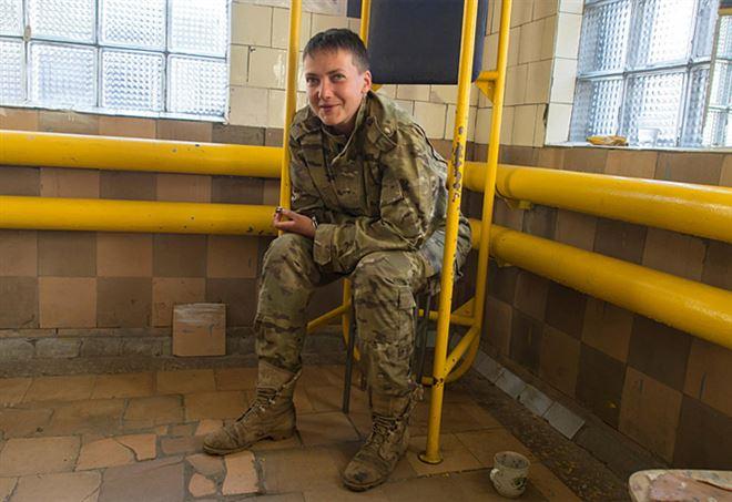Nadia Savchenko, arrestata in Ucraina