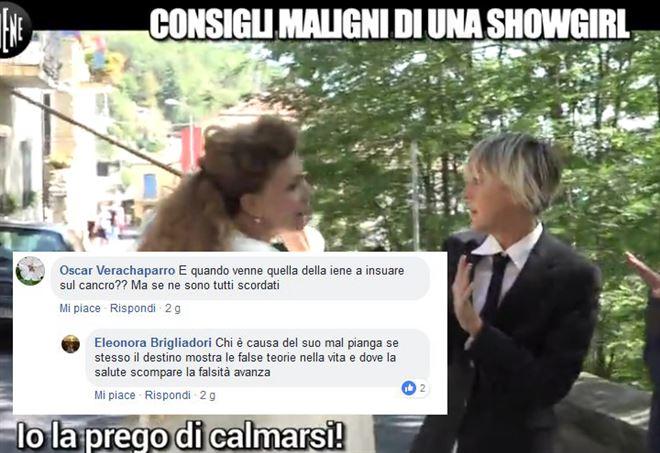 La Brigliadori attacca Nadia Toffa - Il commento incriminato su Facebook