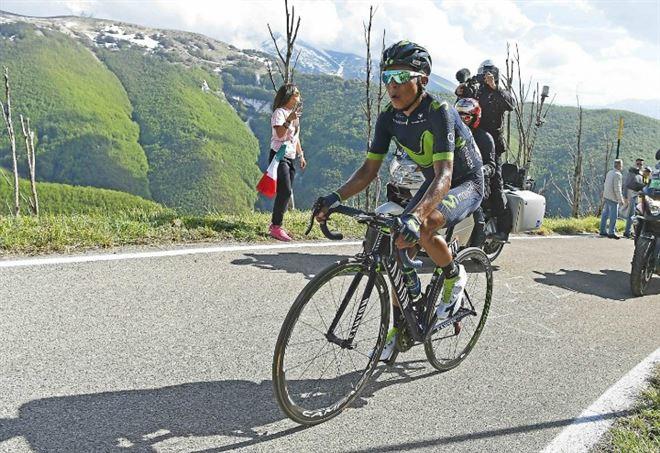 Diretta Giro d'Italia: Nairo Quintana è molto atteso oggi (LaPresse)