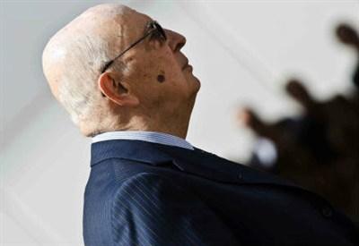 Il capo dello Stato, Giorgio Napolitano (InfoPhoto)