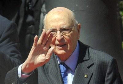 Giorgio Napolitano (Infophoto)