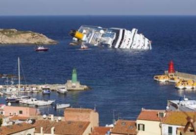La nave Costa Concordia (Infophoto)