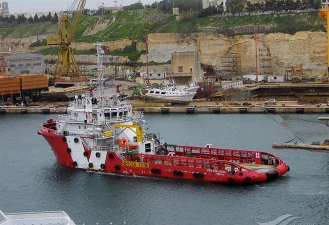 Nave italiana Vos Thalassa respinta dai nostri porti