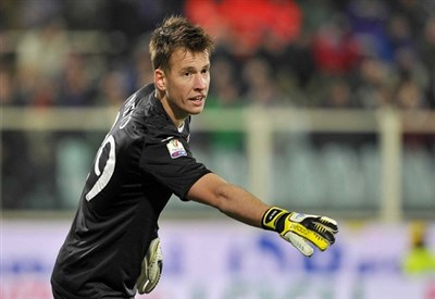 Neto, portiere della Fiorentina (Infophoto)