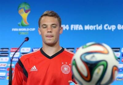 Manuel Neuer, 28 anni, portiere della Germania (INFOPHOTO)