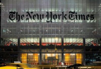 La sede del New York Times (Foto www.rpbw.com)