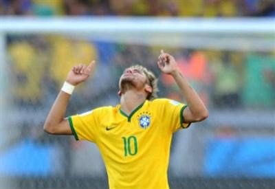 Neymar da Silva Santos Junior (22) 4 gol in questo Mondiale (Infophoto)