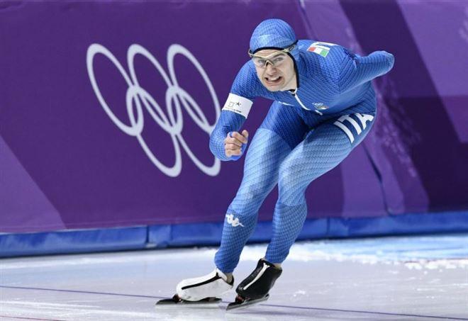 Nicola Tumolero, medaglia di bronzo alle Olimpiadi - LaPresse