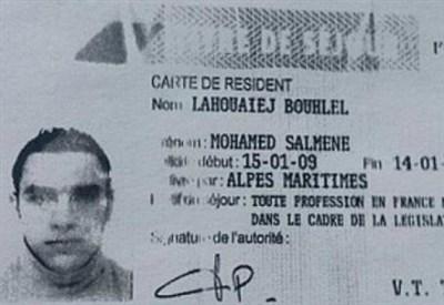 Mohamed Lahouaiej Bouhlel, l'attentatore di Nizza (Foto dal web)