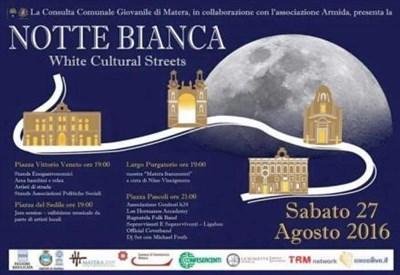 Notte Bianca di Matera 2016