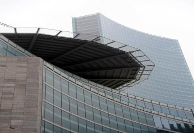La nuova sede della Regione Lombardia (Foto: InfoPhoto)