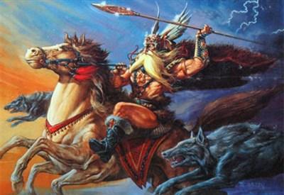 Una immagine di Odino