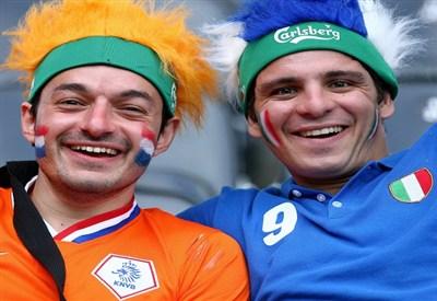 Olanda-Italia (INFOPHOTO)