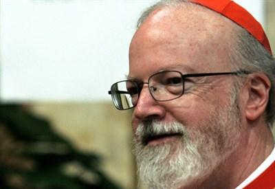 Sean Patrick O'Malley, cardinale di Boston (Infophoto)