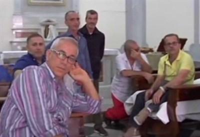 Gli operai di Taranto (Immagine dal web)