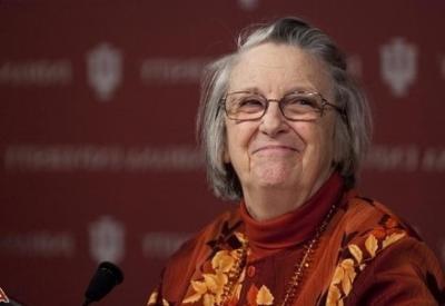 Elinor Ostrom, premio Nobel per l'economia (1933-2012; immagine d'archivio)