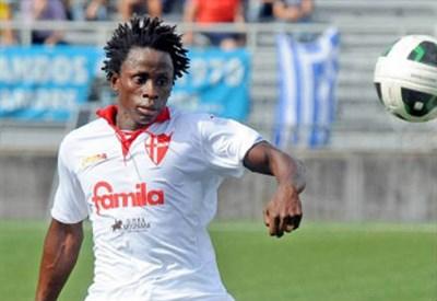 Wilfred Osuji, 23 anni, centrocampista nigeriano del Padova (INFOPHOTO)