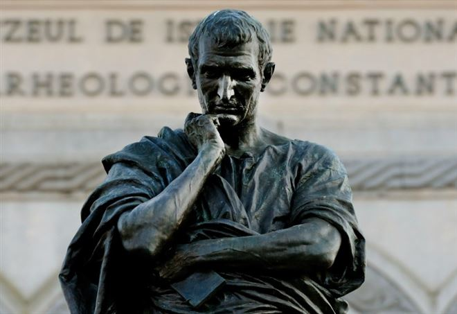 Statua di Ovidio (Foto dal web)