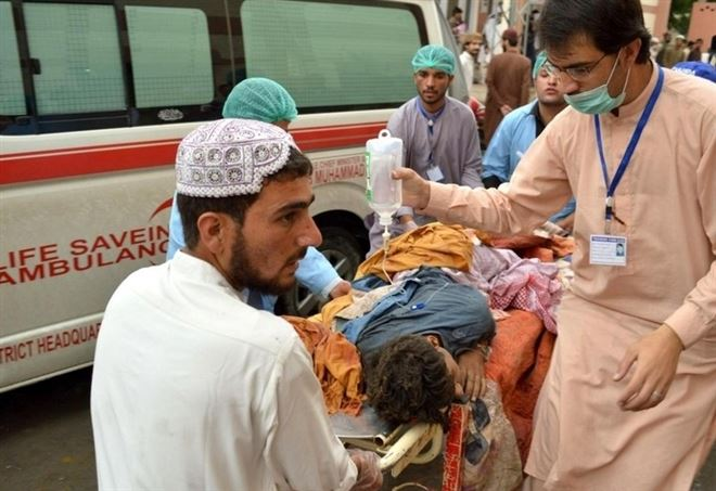Dopo l'attentato in Pakistan (LaPresse)