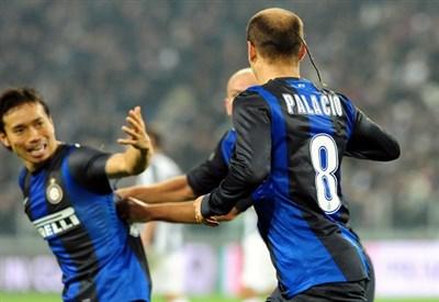 Rodrigo Palacio: l'Inter giocherà sotto gli occhi di Thohir (Infophoto)