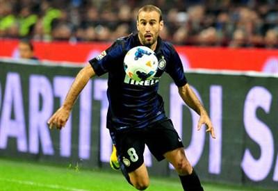 Rodrigo Palacio, 31 anni, attaccante argentino dell'Inter (INFOPHOTO)