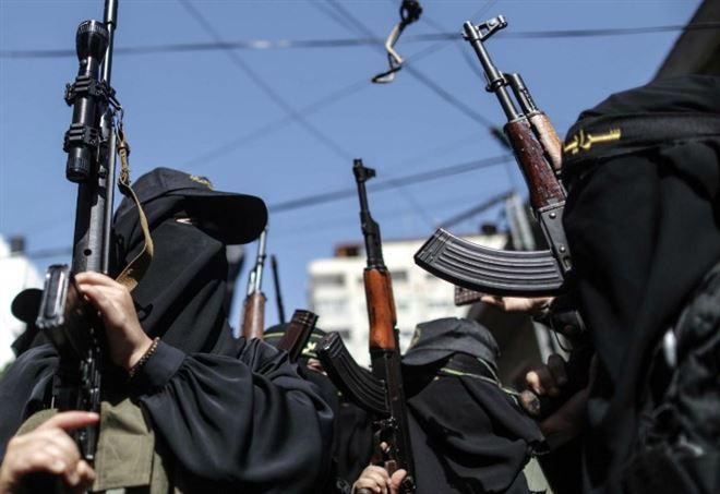Militanti di Hamas (LaPresse)