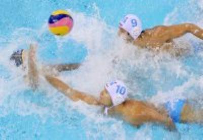 Un'immagine di una partita dell'Italia (Infophoto)