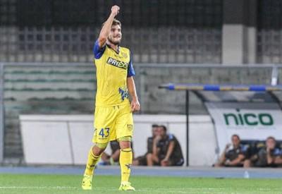 Paloschi, attaccante Chievo (Infophoto)