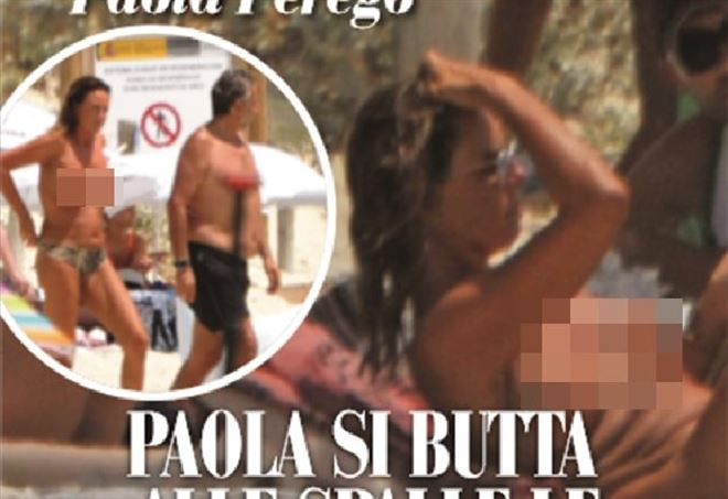 Paola Perego, estate bollente insieme al marito Lucio Presta