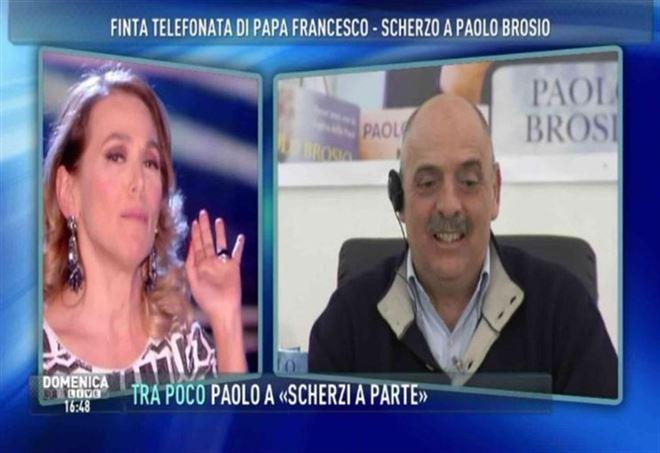 Paolo Brosio da Barbara d'Urso