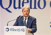 GENTILONI/ Al Meeting fa sul serio e prenota Palazzo Chigi
