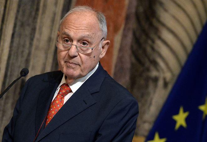 Paolo Savona, ministro per gli Affari europei (LaPresse)
