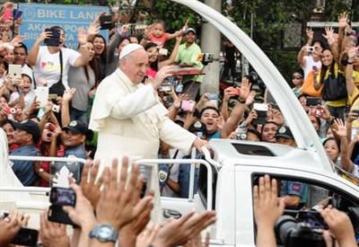 Papa Francesco nelle Filippine