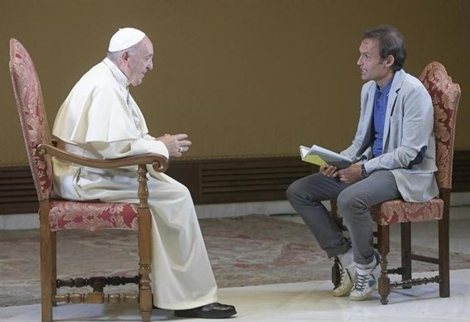 Papa Francesco intervistato da Don Marco Pozza